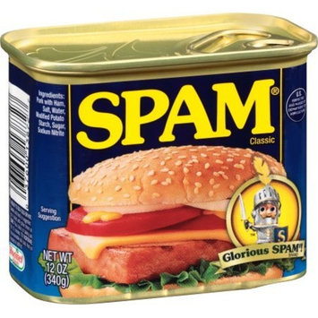 SPAM Classic, 12-Ounce Cans (Pack of 12 )