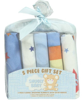 Snugly Baby Starry Delight 5-Pack Receiving Blankets Gift Set