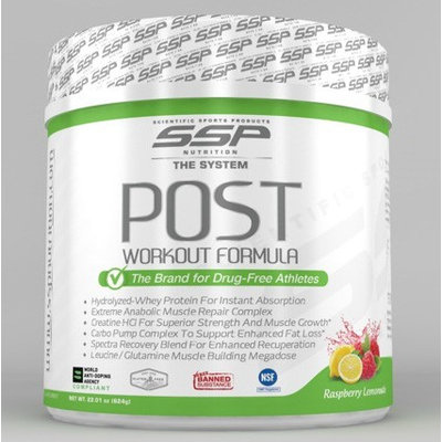 Ssp Nutrition, Inc. SSP Nutrition Post Workout Powder, Raspberry Lemonade, 1.37 Lb