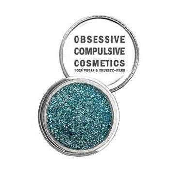 Obsessive Compulsive Cosmetics Face & Body Cosmetic Glitter, Aqua, 0.08 Ounce
