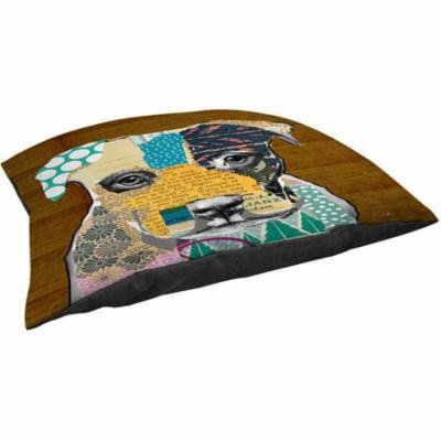 Thumbprintz Pattern Collage Pit Indoor/ Outdoor Pet Bed
