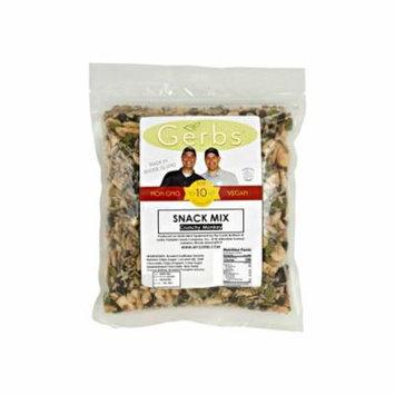 Dark Chocolate, Banana Chip, Roasted Pumpkin & Sunflower Seed Trail Mix by Gerbs - 2 LBS - Top 12 Food Allergen Free