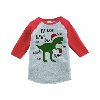Custom Party Shop Youth Christmas Dinosaur Onepiece - 2T
