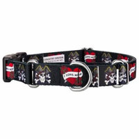 Country Brook Design® I Love Mom Martingale with Deluxe Buckle