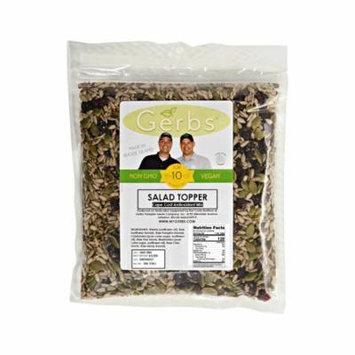Raw Pumpkin, Sunflower, Chia, Hemp, Flax Seed, Dried Blueberries, Cranberries, Raisins Salad Mix by Gerbs - 4 LBS