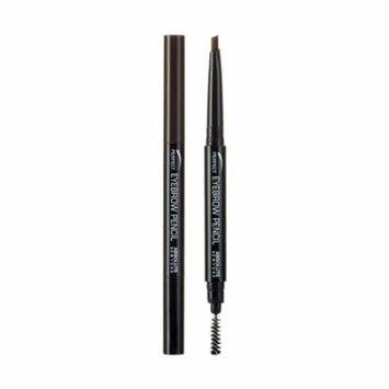 (6 Pack) ABSOLUTE Perfect Brow Pencil - Dark Brown