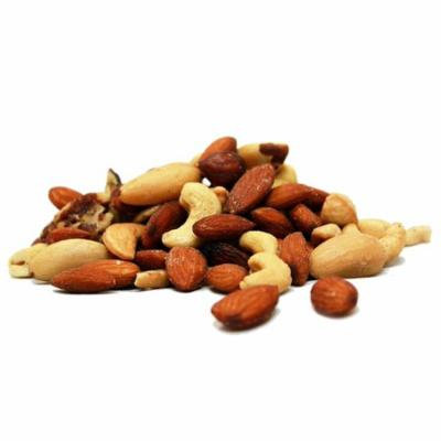 Deluxe Roasted and Salted Mixed Nuts (No Peanuts) by Its Delish, 2 lbs