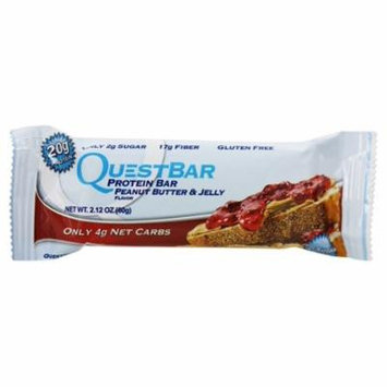 Quest Peanut Butter & Jelly Protein Bar