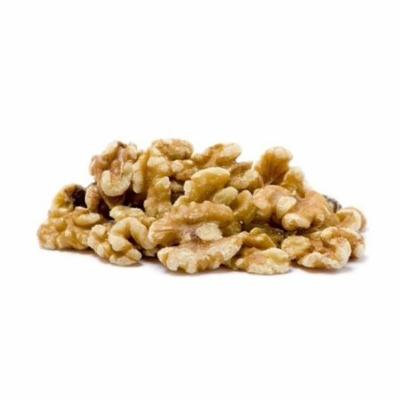Gourmet Walnuts by Its Delish (Roasted Unsalted Halves & Pieces, 2 lbs)