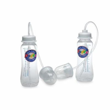 Hands-Free Ba Bottle Feeding System (Twin Pack), Helps prevent colic and gas build up By Podee