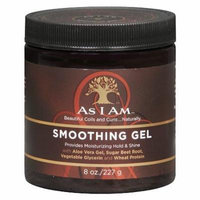 As I Am Smoothing Hair Gel 8.0 oz.(pack of 4)