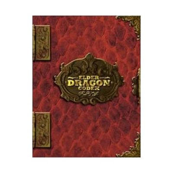 Elder Dragon Codex - Red 9 Pocket Binder