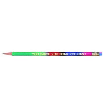 J.R. Moon Pencil JRM7931BBN You Can If You Think You Can Pencils - 12 Dozen