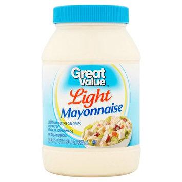 Wal-mart Stores, Inc. Great Value Light Mayonnaise, 30 fl oz