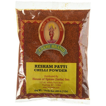 Laxmi Traditional Indian Resham Patti Chili Powder Cooking Spice - (7 oz)