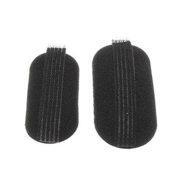 Rokou 2pcs Black Sponge Hair Volume Bump Up Clip Hair Maker Tool Hair Base