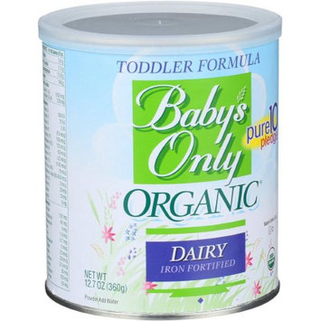 Baby's Only Essentials Baby's Only Organic Dairy Toddler Formula, 12.7 oz