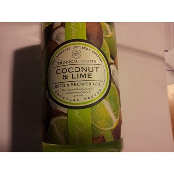 Asquith & Somerset Tropical Fruits Coconut & Lime Bath & Shower Gel 17 Fl.Oz. From England