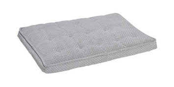 Bowsers Pet Products Bowsers Luxury Pet Crate Mattress Nickel Weave Microvelvet, Size: Small