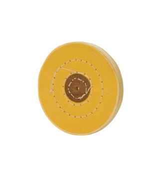 Eurotool Chemkote Yellow Buff, 4 Inches, 50 Ply