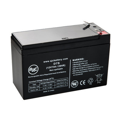 Injusa Mega Cyclops Quad 12V 7Ah Scooter Battery - This is an AJC Brand® Replacement