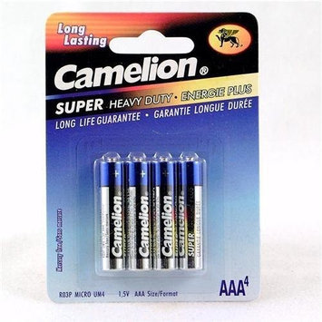CAMELION Super Heavy Duty Batteries 4 Pack - AAA
