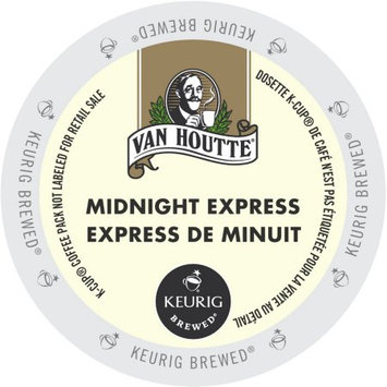 Van Houtte Midnight Express Coffee K-Cup Portion Pack for Keurig Brewers