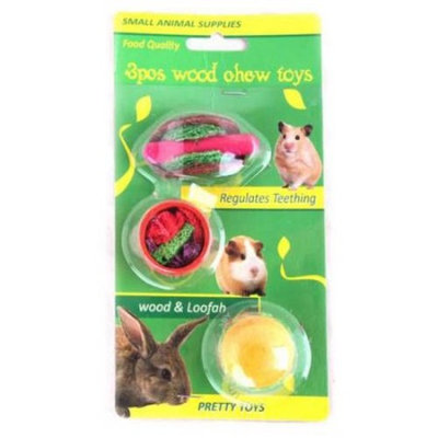 All For Paw Small 3-Piece Wood Chews