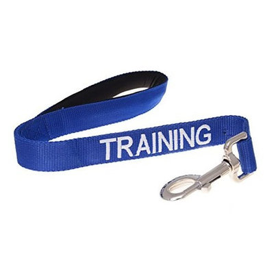 TRAINING Blue Color Coded 2 4 6 Foot Or Coupler Professional Adjustable Dog Leash (Do Not Disturb) PREVENTS Accidents By Warning Others of Your Dog in Advance