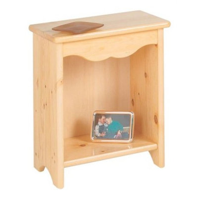 Little Colorado Toddler Bedside Stand, Soft Pink