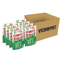 Vermont Smoke & Cure Mini Meat Stick Go Packs, Beef & Pork, Antibiotic Free, Gluten Free, Cracked Pepper, Six 0.5oz Sticks Per Pouch, Pack of 8 Pouches
