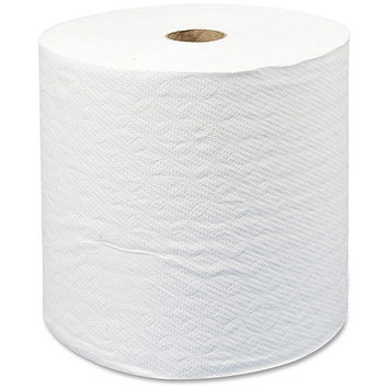 Scott High Capacity Hard Roll Paper Towels (01005), White, 1000'/Roll, 6 Paper Towel Rolls/Convenience Case