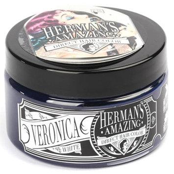Herman's Amazing Vegan Semi-Permanent Direct Hair Color Dye (4oz) Silver Veronica White