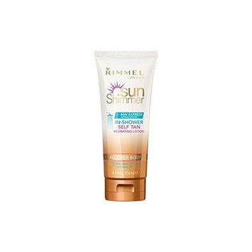 Rimmel Sunshimmer In Shower Self-Tan 200ml (Pack of 6)