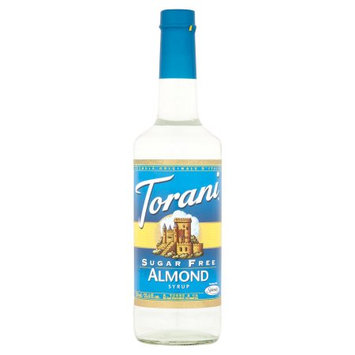 R Torre & Co Torani, Syrup Sugar Free Almond, 25.4 Fo (Pack Of 6)