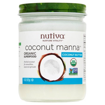 Nutiva, Oil Coconut Manna, 15 Oz (Pack Of 6)