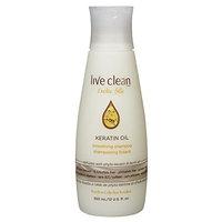 Live Clean Shampoo - 12 Oz (350ml) (Exotic Silk Keratin Oil Smoothing Shampoo)