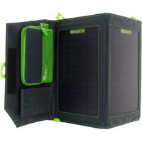 GearIt 7W Portable Power Foldable Solar Panel Charger for Android iPhone GoPro