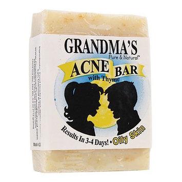Acne Control Bar-Oily - 4OZ,(Grandma's Soaps)