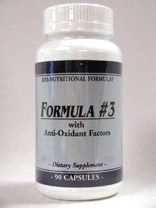 Formula #3 90 caps by Bio-Nutritional Formulas