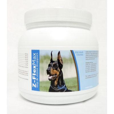 Healthy Breeds 840235106432 Doberman Pinscher Z-Flex Max Hip & Joint Soft Chews - 100 count