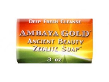 Soap Ancient Beauty Zeolite Ambaya Gold 3 oz Bar Soap