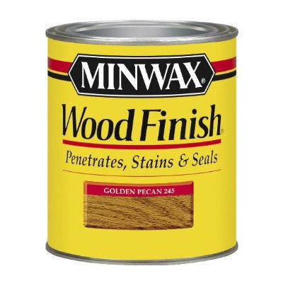 Minwax 22450 Wood Finish ~ Golden Pecan, 1/2 Pint