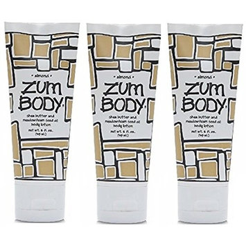 Zum Body Lotion Almond 2 fl oz, 3 Pack