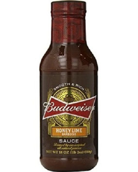 Budweiser Honey Lime Barbecue Sauce