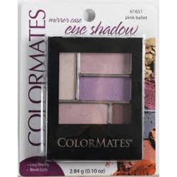 Merchandise 8646899 Colormates 5Pan Eye Shadow, Pink Palette