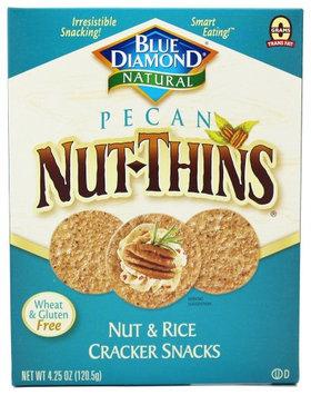 Blue Diamond Growers - Pecan Nut-Thins Nut & Rice Cracker Snacks - 4.25 oz(pack of 12)
