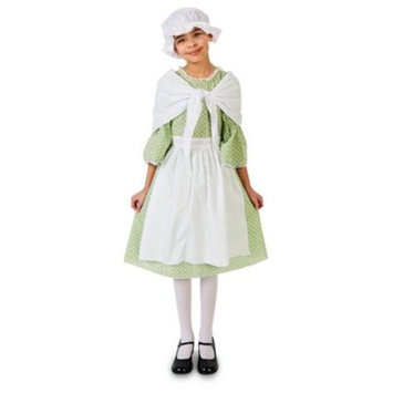 Spring Meadow Printed Colonial Girls' Costume