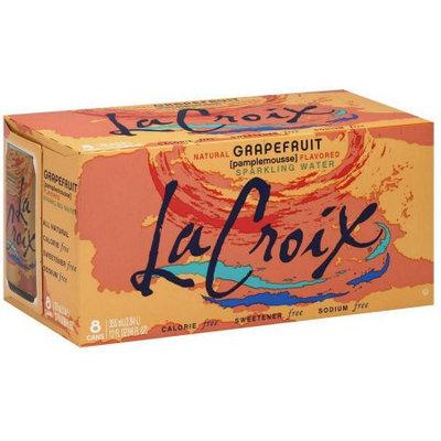La Croix Sparkling Water, Grapefruit, 8 Cans, 12 Fluid Ounces (Pack of 2)