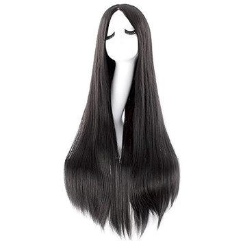 iLoveCos Women's Cosplay Wigs Black
